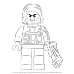 How to Draw Lego Winter Soldier