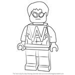 How to Draw Lego Wonder Man