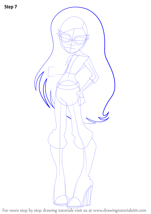 learn how to draw ghoulia yelps from monster high  monster