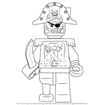 How to Draw Captain Soto from Ninjago