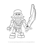 How to Draw Chopov from Ninjago