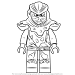 How to Draw Evil Green Ninja from Ninjago
