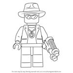 How to Draw Paleman from Ninjago