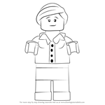 How to Draw Patty Keys from Ninjago