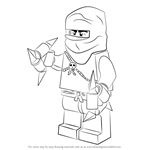 How to Draw Phantom Ninja from Ninjago