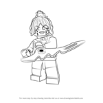 How to Draw P.I.X.A.L. from Ninjago
