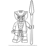 How to Draw Rattla from Ninjago
