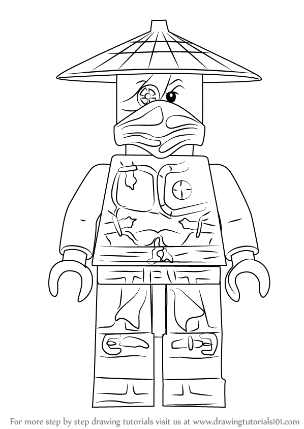 Learn How to Draw Ronin from Ninjago