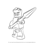 How to Draw Snappa from Ninjago