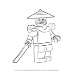 How to Draw Stone Swordsman from Ninjago