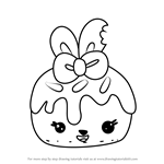 How to Draw Cherry Choco from Num Noms
