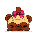 How to Draw Choco Dunk from Num Noms