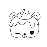 How to Draw Choco Nana from Num Noms