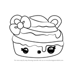 How to Draw Cindy Cinnamon from Num Noms
