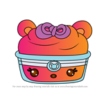 How to Draw Citrus Blizzard from Num Noms