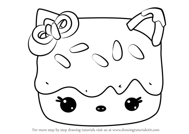 Nom Noms Toys Coloring Pages Sketch Coloring Page