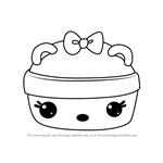 How to Draw Cucumber Melon Gloss-Up from Num Noms
