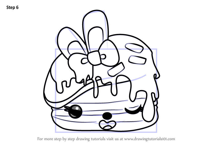 how how to draw the num nom softy mallow