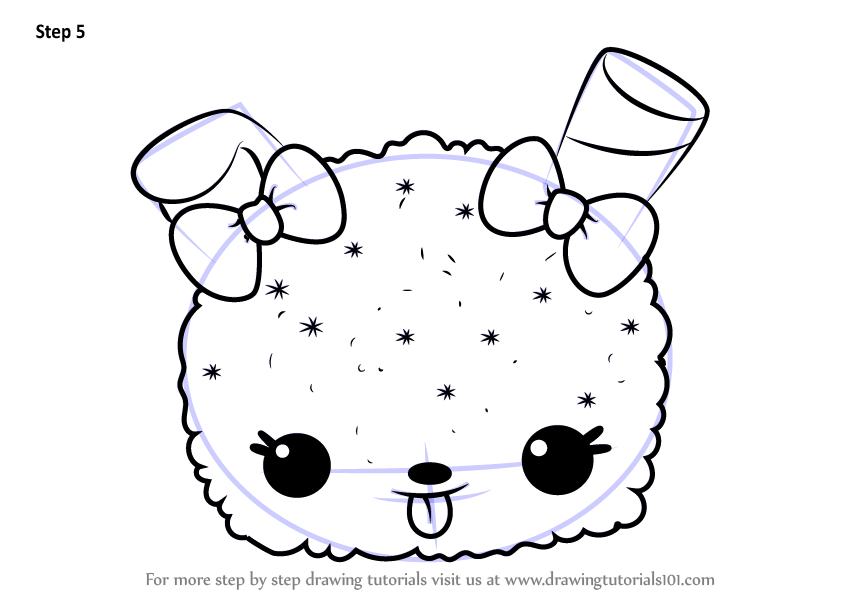 Learn How To Draw Gracie Grape From Num Noms Num Noms