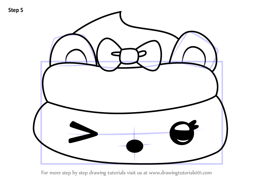 Learn How To Draw Jammin Razzy Go Go From Num Noms Num