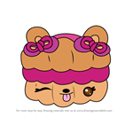 How to Draw Jazzy Razzwich from Num Noms
