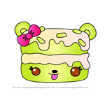 How to Draw K.L. Cake from Num Noms