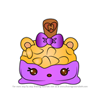 How to Draw Krispy Kaitlyn from Num Noms