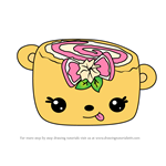 How to Draw Le' Monade Jelly Roll from Num Noms