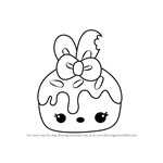 How to Draw M. Mallow from Num Noms