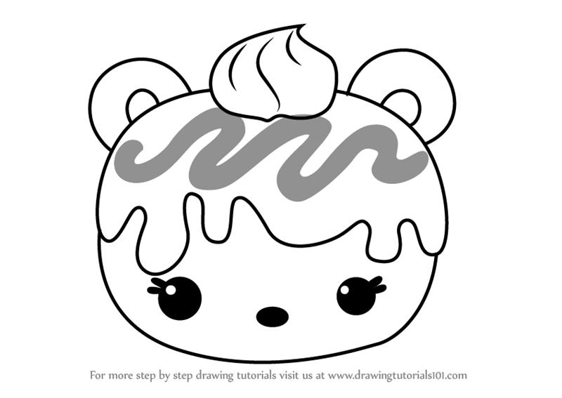 Learn How To Draw Mac Minty From Num Noms Num Noms Step