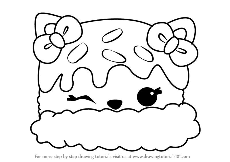 Learn How To Draw Mint T Cream From Num Noms Num Noms Step By