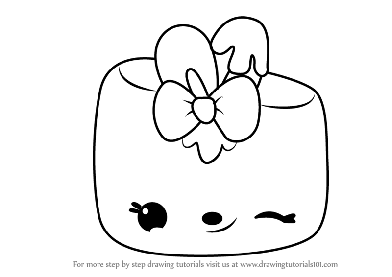 Learn How To Draw Minty Mallow From Num Noms Num Noms Step By Step Drawing Tutorials
