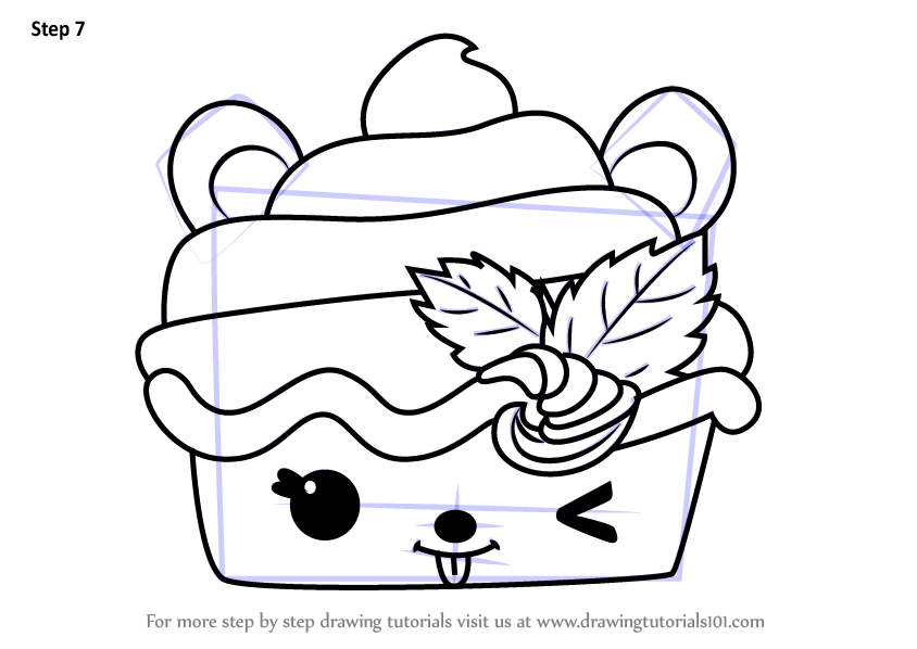 Learn How To Draw Nilla Froyo From Num Noms Num Noms