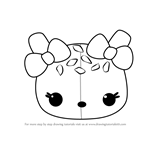 How to Draw Orange Freezie from Num Noms