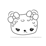 How to Draw Piña Jelly from Num Noms