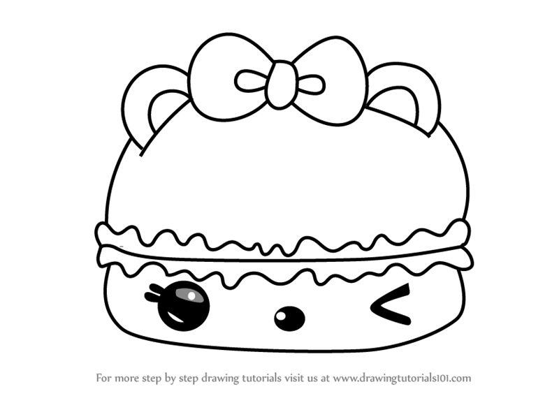 Learn How To Draw S Mores Gloss Up From Num Noms Num Noms