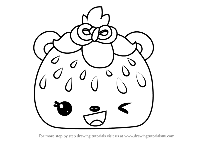 Learn How to Draw Sadie Seeds from Num Noms (Num Noms) Step by Step ...