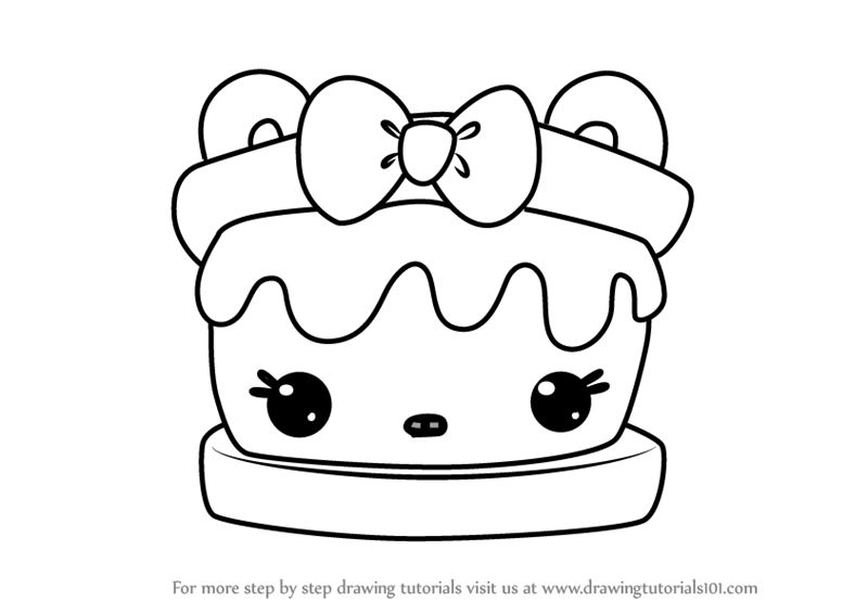 This is an image of Ambitious S'mores Coloring Page