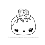 How to Draw Strawberry Pop from Num Noms