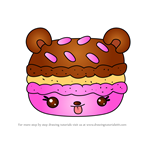 How to Draw Trois Treats from Num Noms