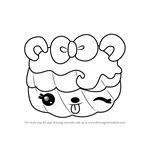 How to Draw Valerie Vanilla from Num Noms