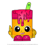 How to Draw Alpha Soup from Shopkins