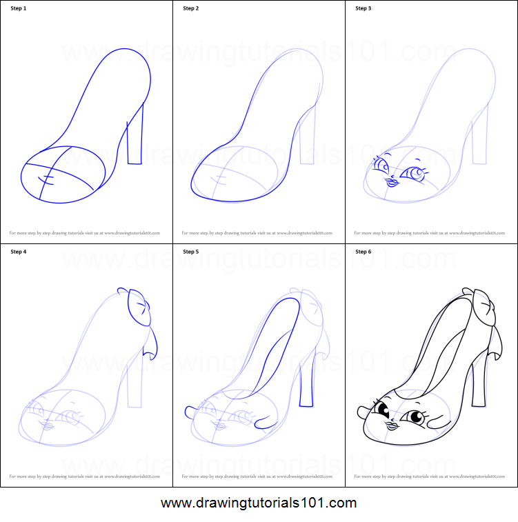 how to draw beverley heels from shopkins printable step by step drawing sheet drawingtutorials101com