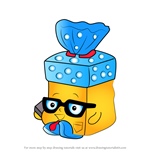 How to Draw Bread Head from Shopkins