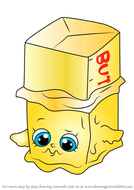 How To Draw Buttercup From Shopkins