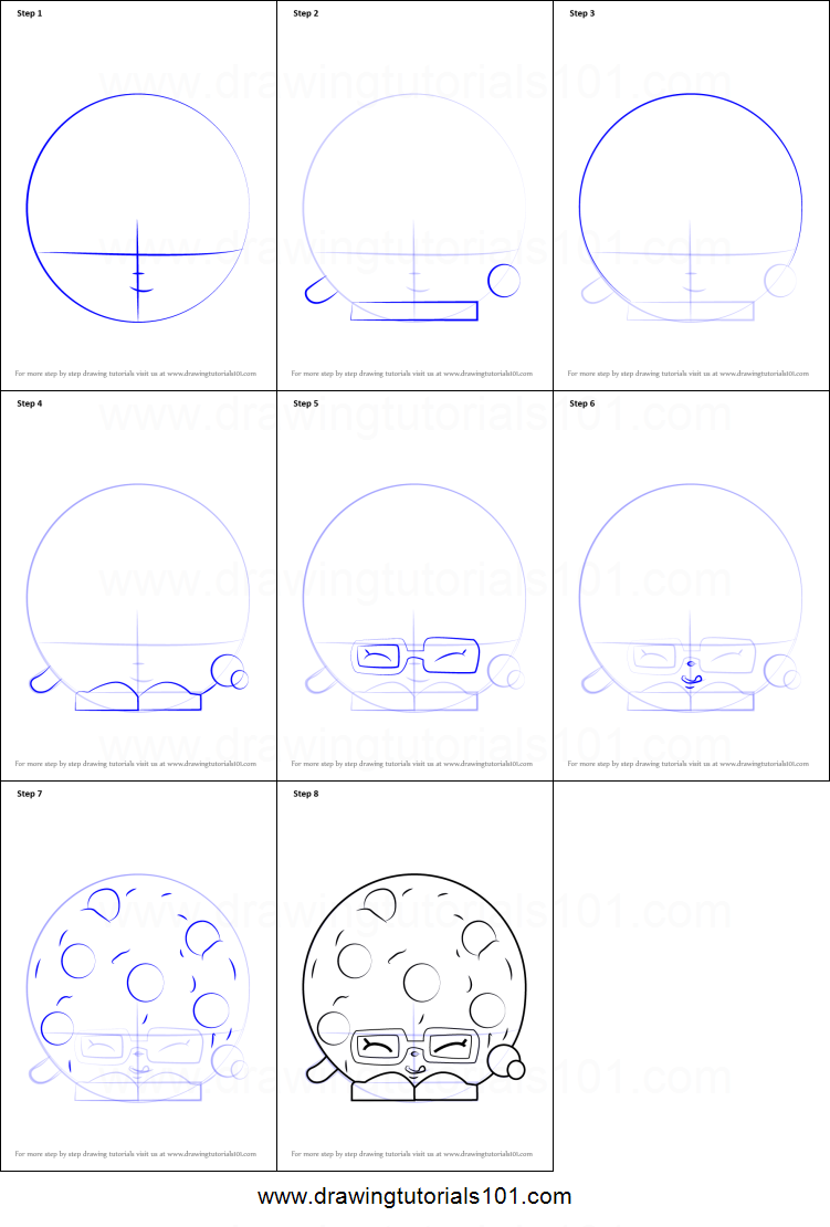 Uncategorized How To Draw Candy Step By Step how to draw candy cookie from shopkins printable step by shopkins