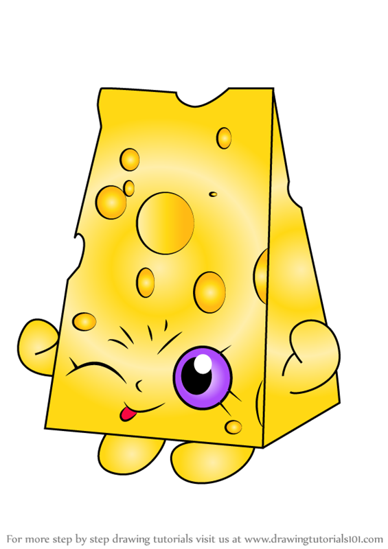 Learn how to draw chee zee from shopkins shopkins step by step drawing tutorials