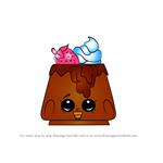 How to Draw Choco Lava from Shopkins