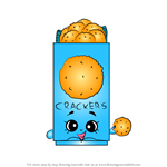 How to Draw Chris P Crackers from Shopkins