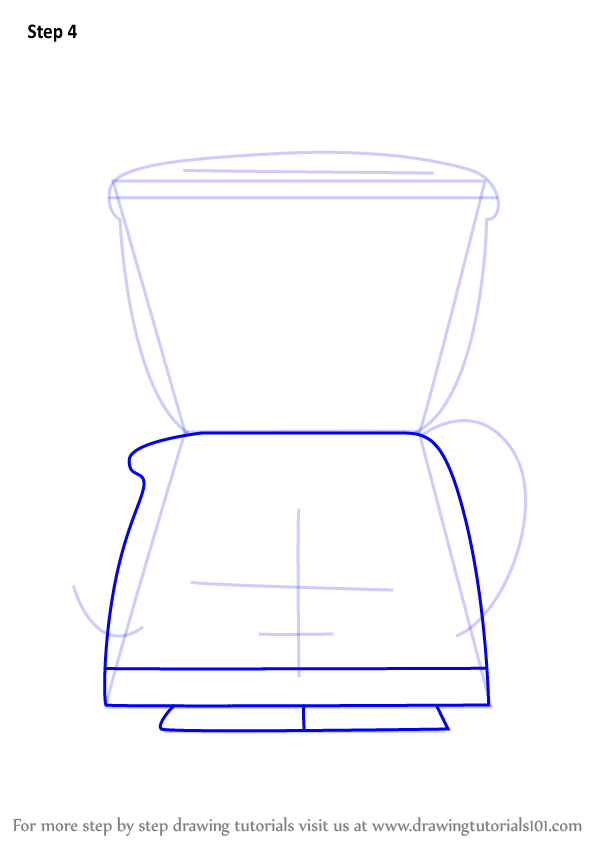 how to draw a coffi